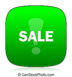sale green icon