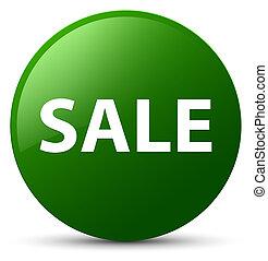 Sale green round button