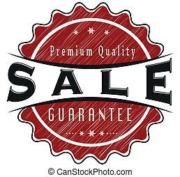 sale guarantee stamp
