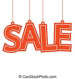 Sale hang tag