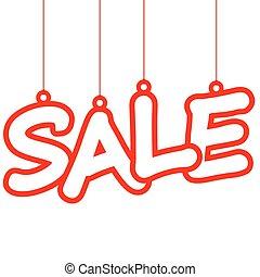 Sale hang tag