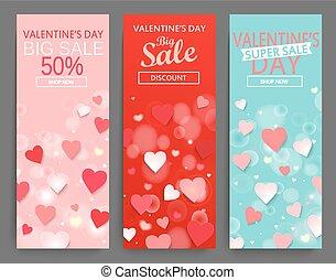 Sale header for Happy Valentines Day celebration.