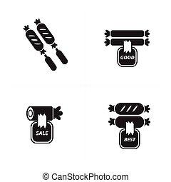 sale Hot dog Icon