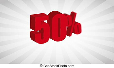 Sale icon  design, Video Animation