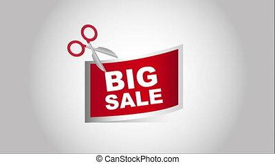 Sale icon  design, Video Animation HD1080