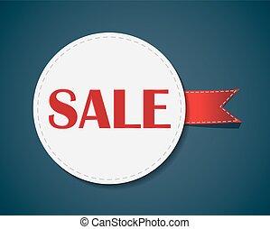 Sale Label . Vector Illustration