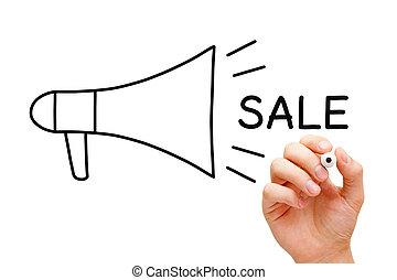 Sale Megaphone Concept