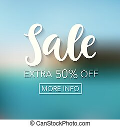 Sale mobile banner template