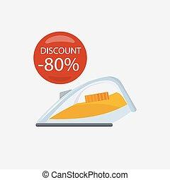Sale of Household Appliances Iron