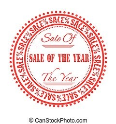 sale of the year stamp