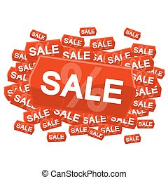 SALE on price tag