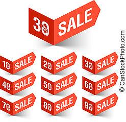 Sale percents sign