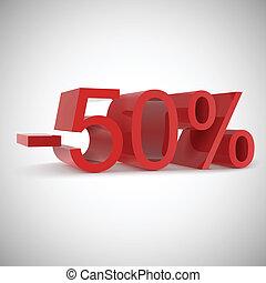 Sale percents,  vector illustration