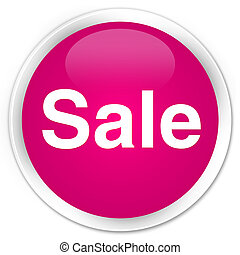 Sale premium pink round button