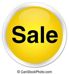 Sale premium yellow round button