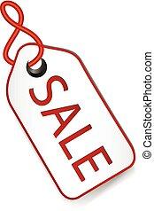 Sale price tag design element