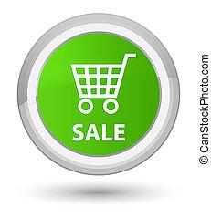 Sale prime soft green round button