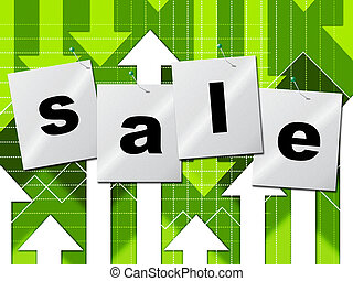 Sale Promo Shows Discount Discounts And Closeout