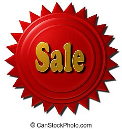 Sale (red seal)