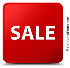 Sale red square button