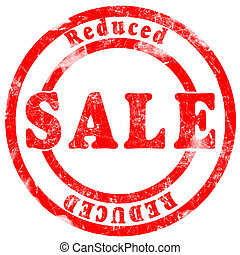 Sale reduced Stamp