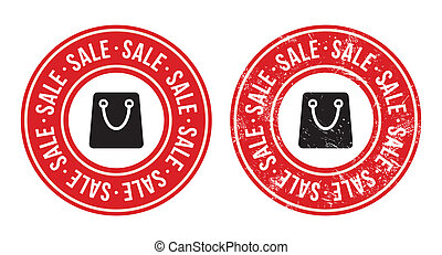 Sale retro grunge badges