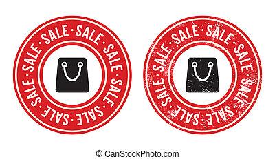 Sale retro grunge badges