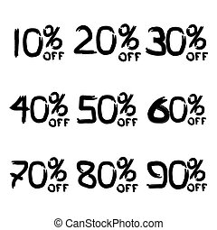 Sale % set brush