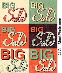 Sale Set. Vector Illustration