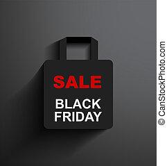 SALE shopping bag Black Friday