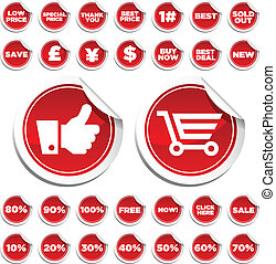 Sale & Shopping Stickers