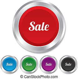 Sale sign icon. Special offer symbol.