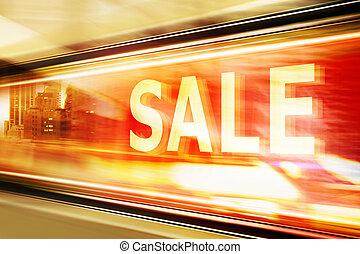 Sale Signon Shop Window