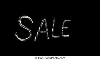 Sale Slogan jewelry ornament design - Sale Slogan made from...