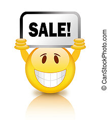 Sale smiley