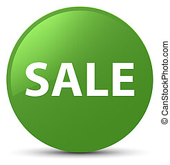 Sale soft green round button