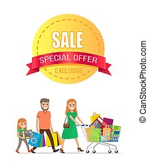 Sale Special Offer Exclusive Discount Promo Poster