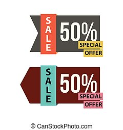 Sale Special Offer Vector Template Design