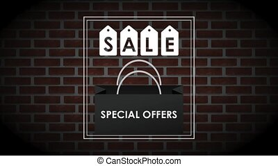 Sale special offers advert HD animation - Sale special...