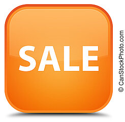 Sale special orange square button