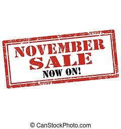 sale-stamp, listopad