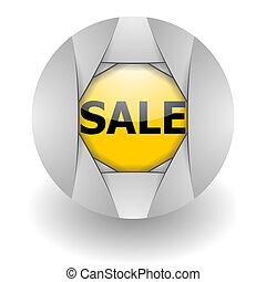 sale steel glosssy icon