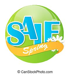 Sale Sticker, Banner Template Vector Illustration