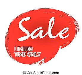 sale sticker vector