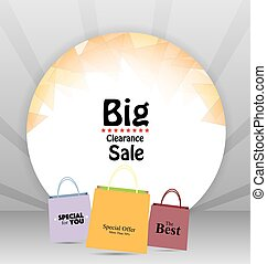 Sale Tag Price Background