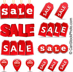 Sale Tags and Banners