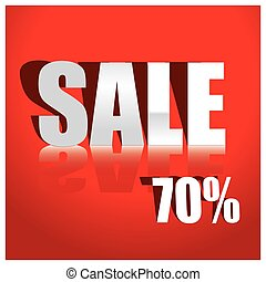 Sale Tags Sale concept, formed of red tags, great for ...