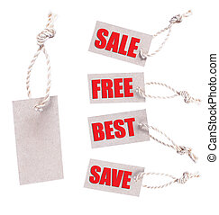 Sale tags - Stock Image