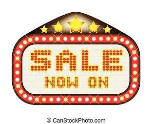 Sale Theatre Marquee