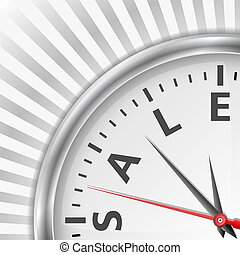 Sale time concept, vector eps10 illustration